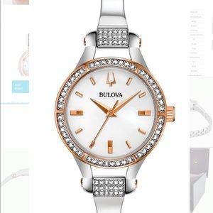 NEW Bulova Women's Watch Swarovski Crystals